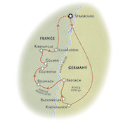 Alsace France Map